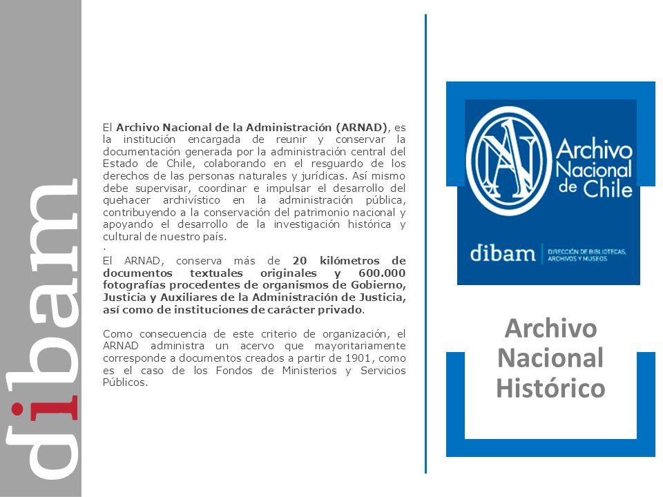 Archivo Nacional de la Administración Archivo Nacional Histórico