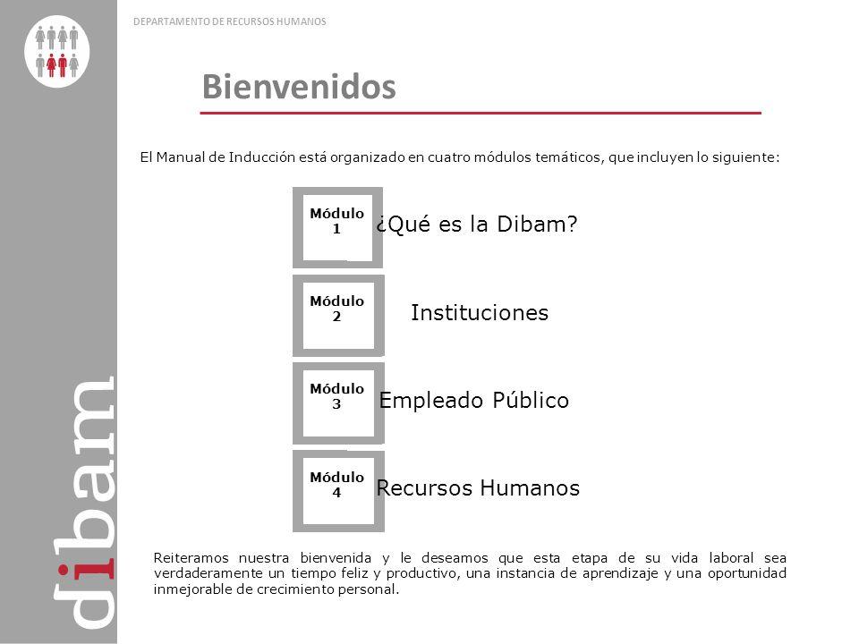 Bienvenidos ¿Qué es la Dibam Instituciones Empleado Público