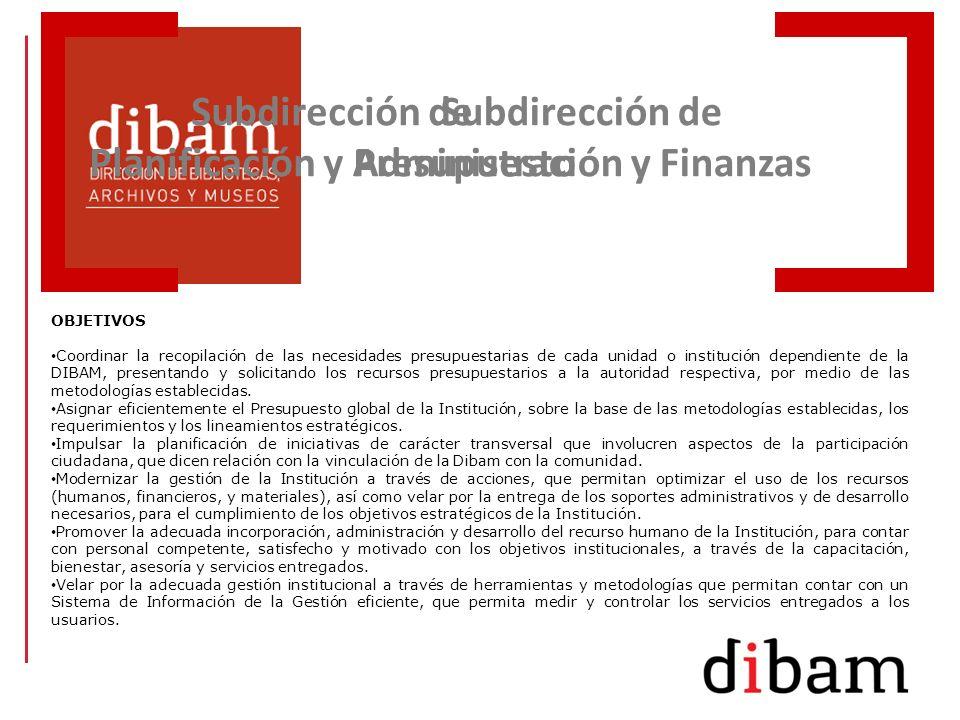 Subdirección de Planificación y Presupuesto