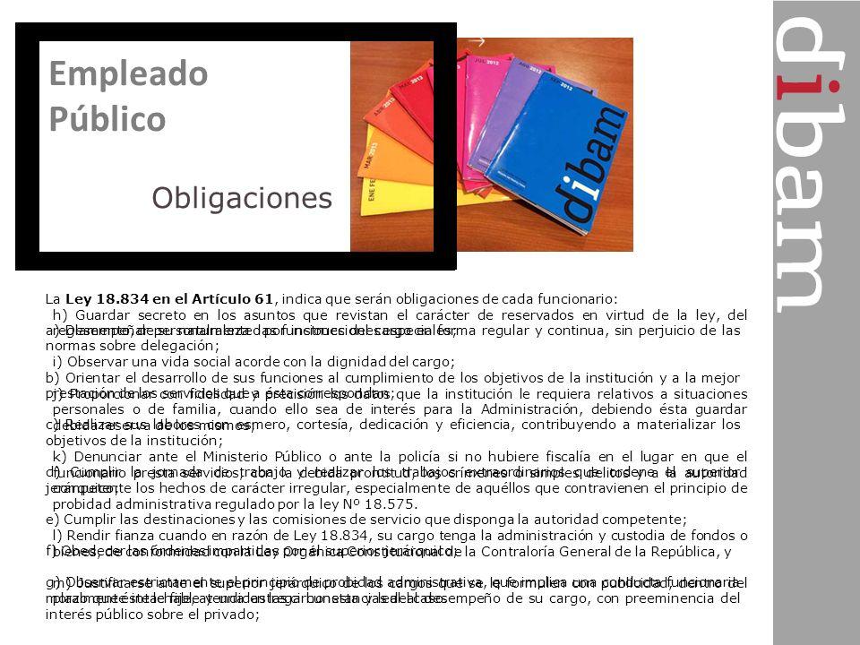 Empleado Público Obligaciones