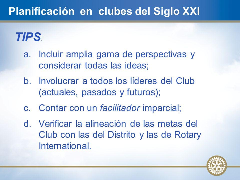 Planificación en clubes del Siglo XXI