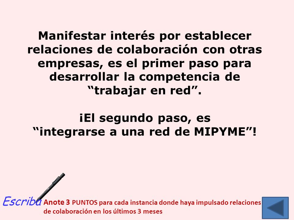 integrarse a una red de MIPYME !