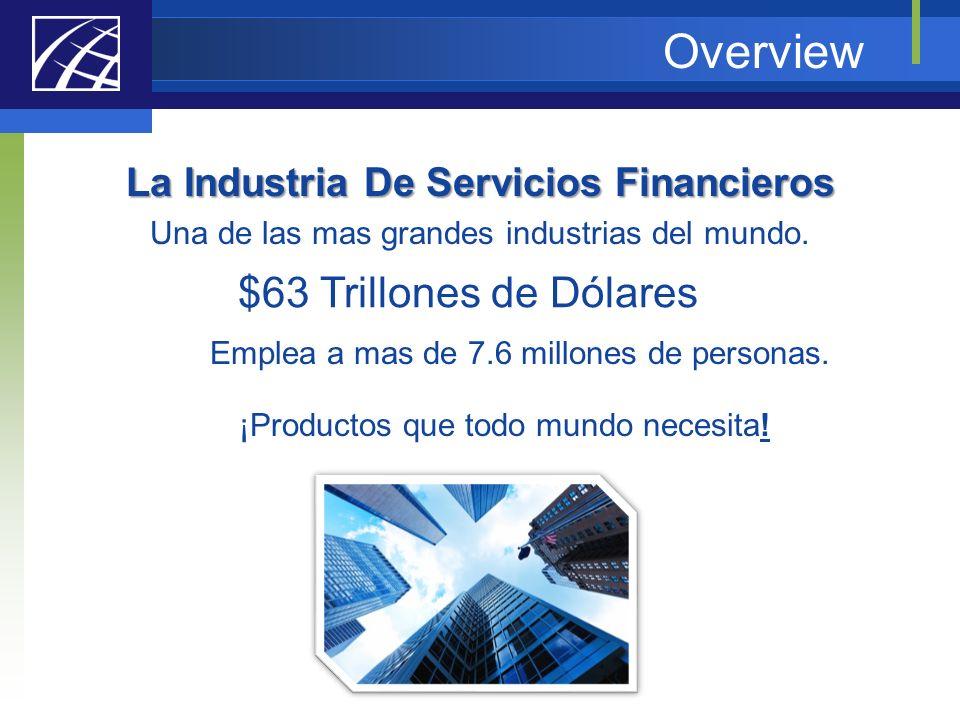La Industria De Servicios Financieros