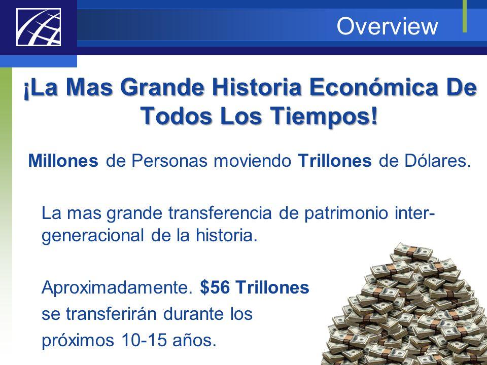 ¡La Mas Grande Historia Económica De Todos Los Tiempos!