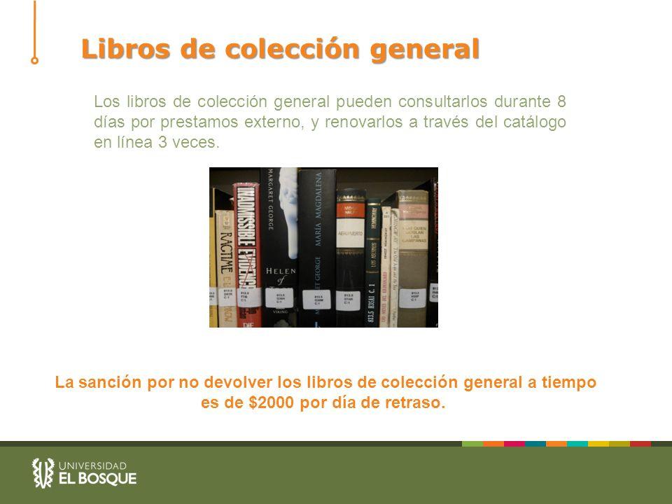 Libros de colección general