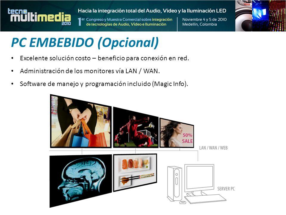 PC EMBEBIDO (Opcional)