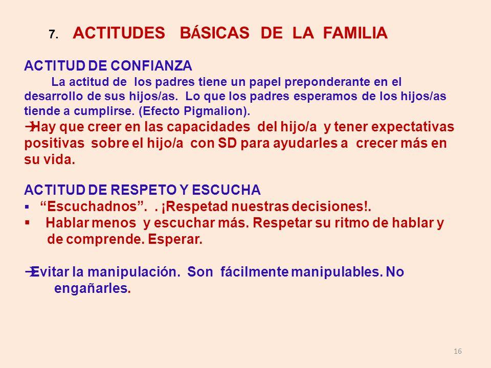 ACTITUD DE RESPETO Y ESCUCHA