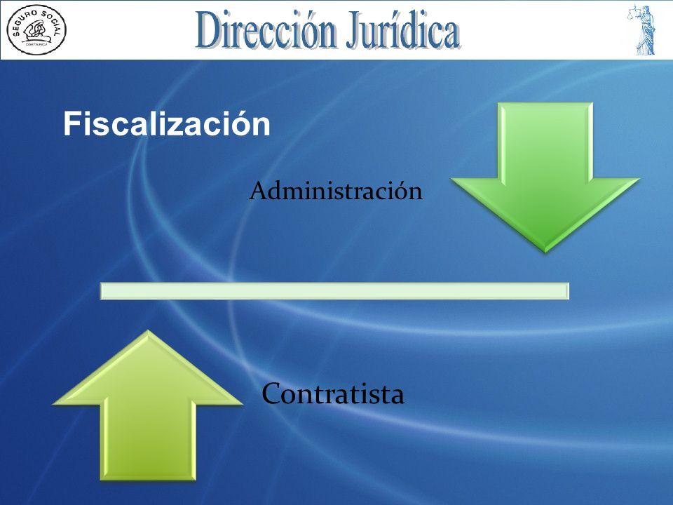 Administración Contratista Fiscalización