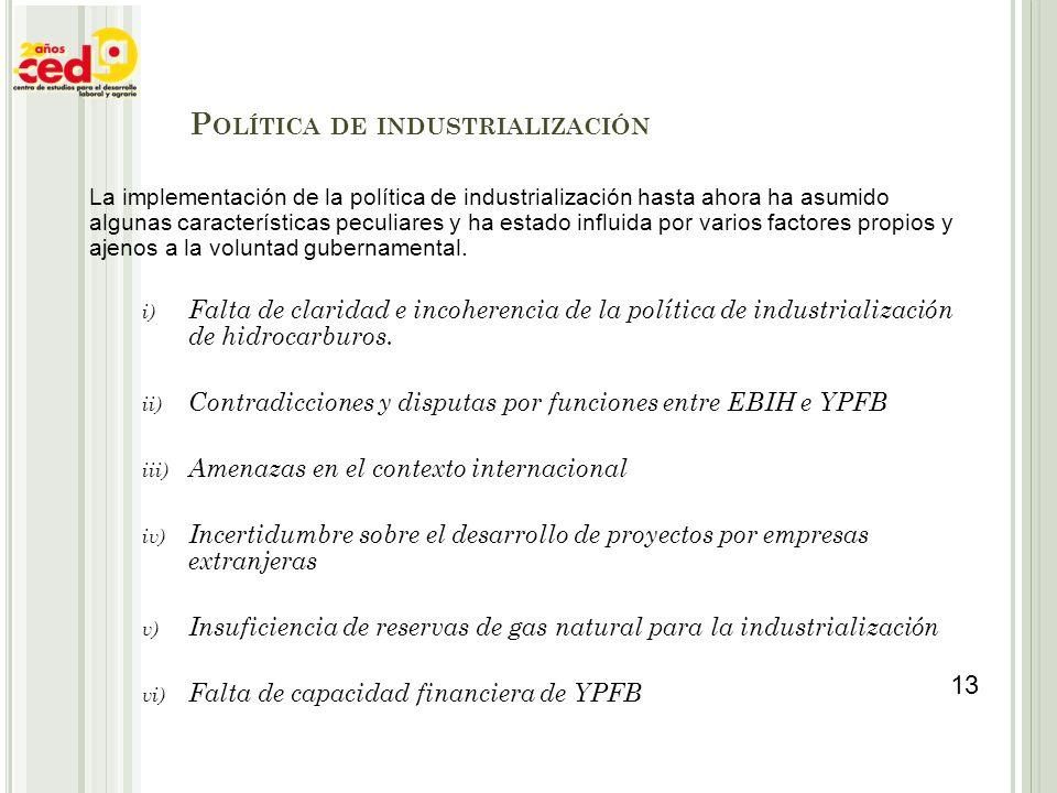 Política de industrialización