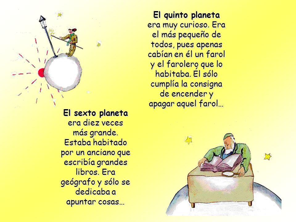 El quinto planeta era muy curioso