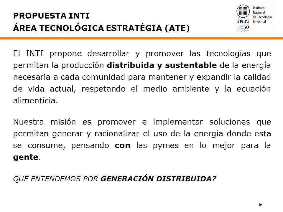 ÁREA TECNOLÓGICA ESTRATÉGIA (ATE)