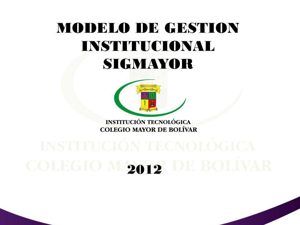 MODELO DE GESTION INSTITUCIONAL SIGMAYOR
