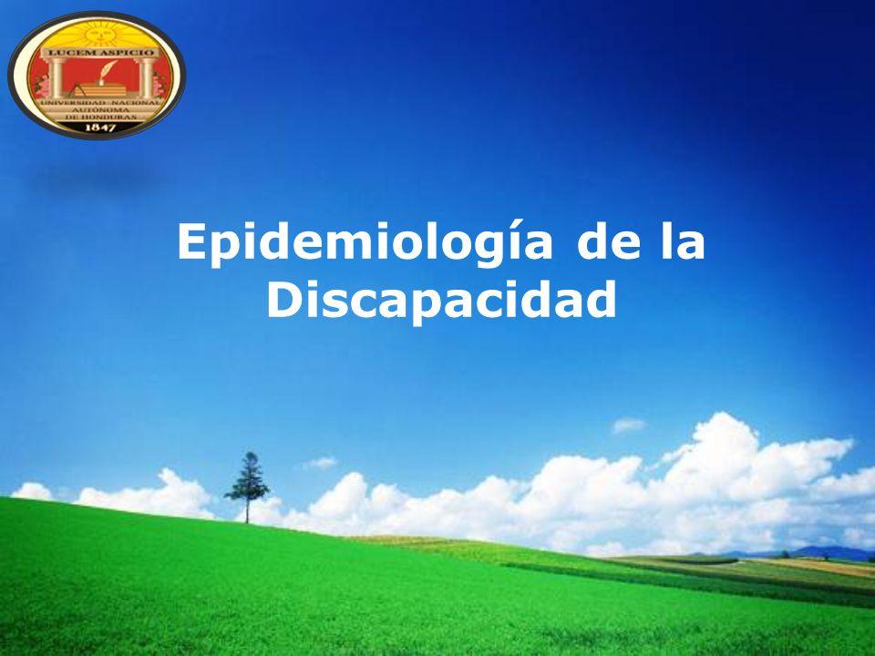 Epidemiología de la Discapacidad
