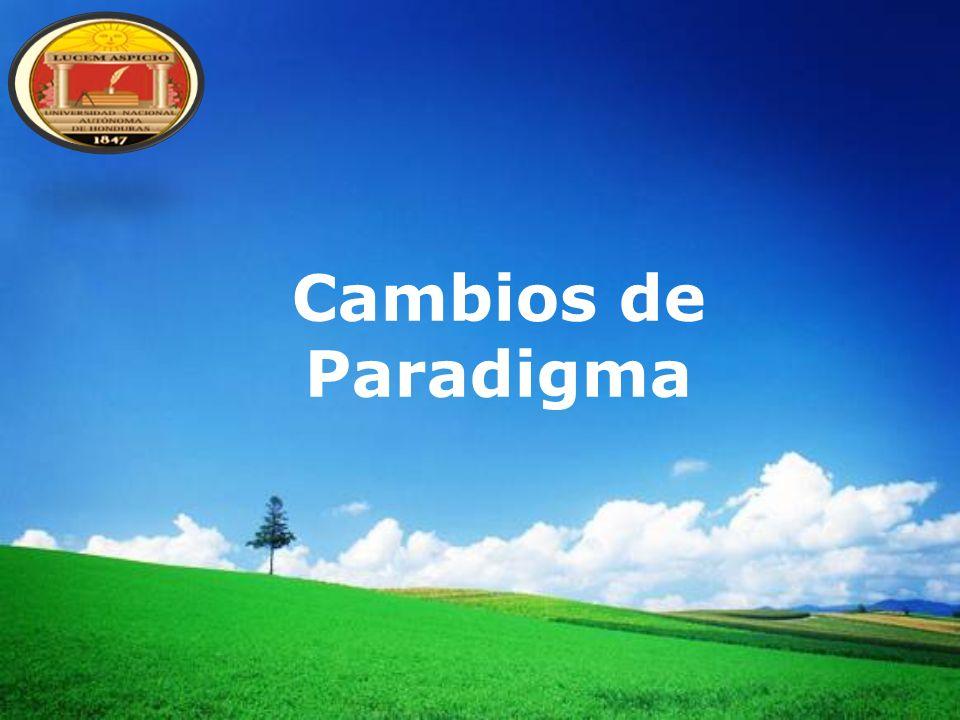 Cambios de Paradigma