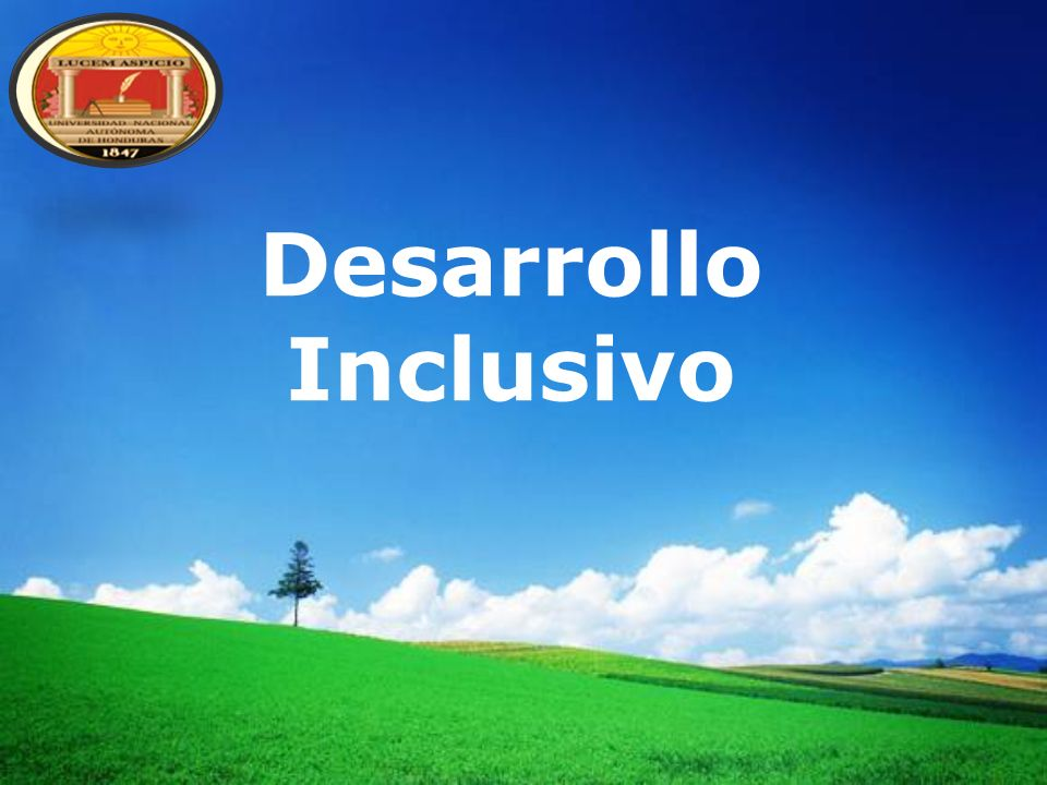 Desarrollo Inclusivo