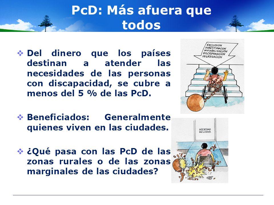 PcD: Más afuera que todos