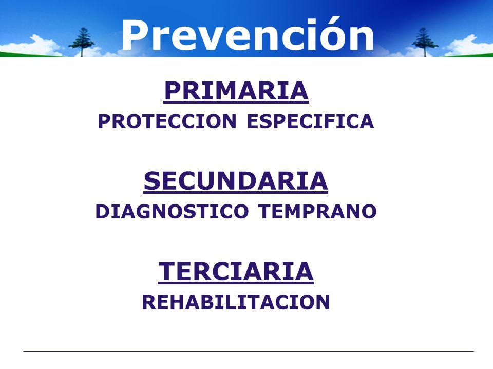 PROTECCION ESPECIFICA