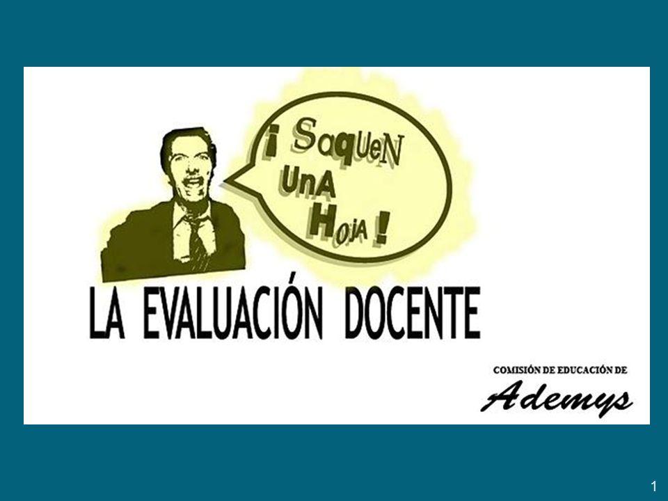 la propuesta de evaluación del Gobierno de Macri en C.a.B.A.