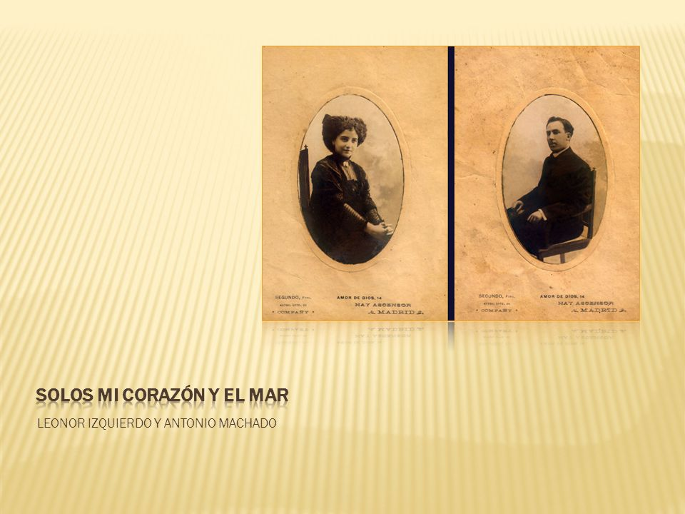 SOLOS MI CORAZÓN Y EL MAR