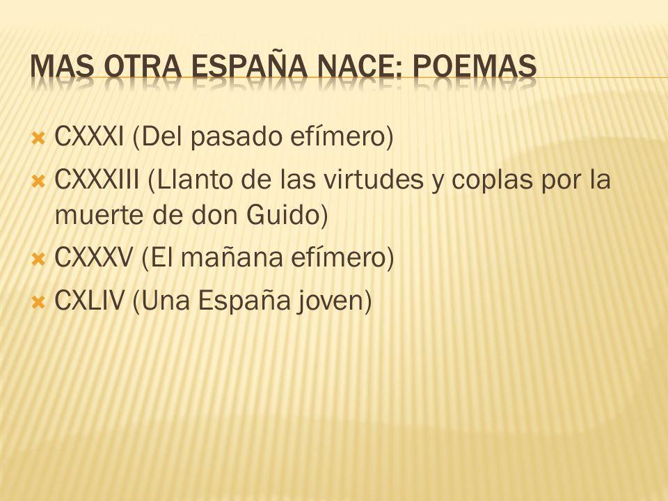 MAS OTRA ESPAÑA NACE: poemas