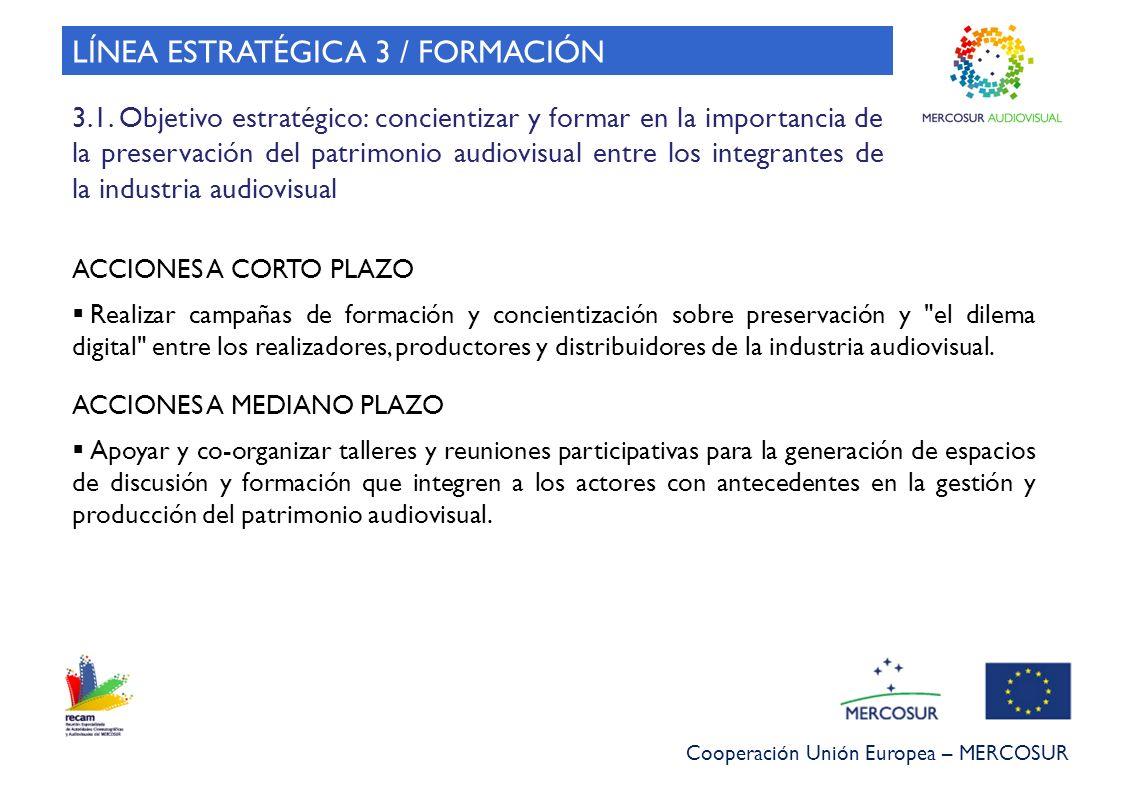 LÍNEA ESTRATÉGICA 3 / FORMACIÓN