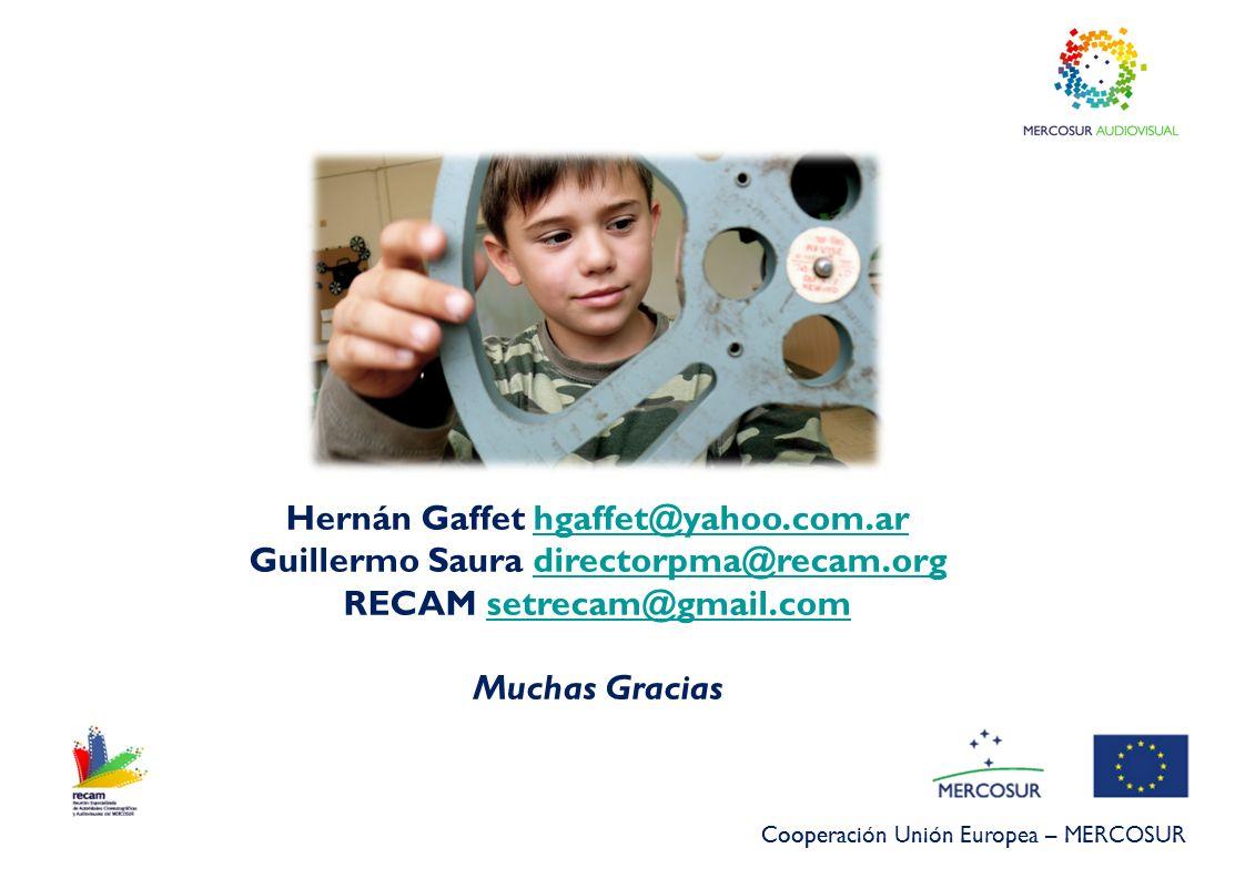 Hernán Gaffet hgaffet@yahoo.com.ar
