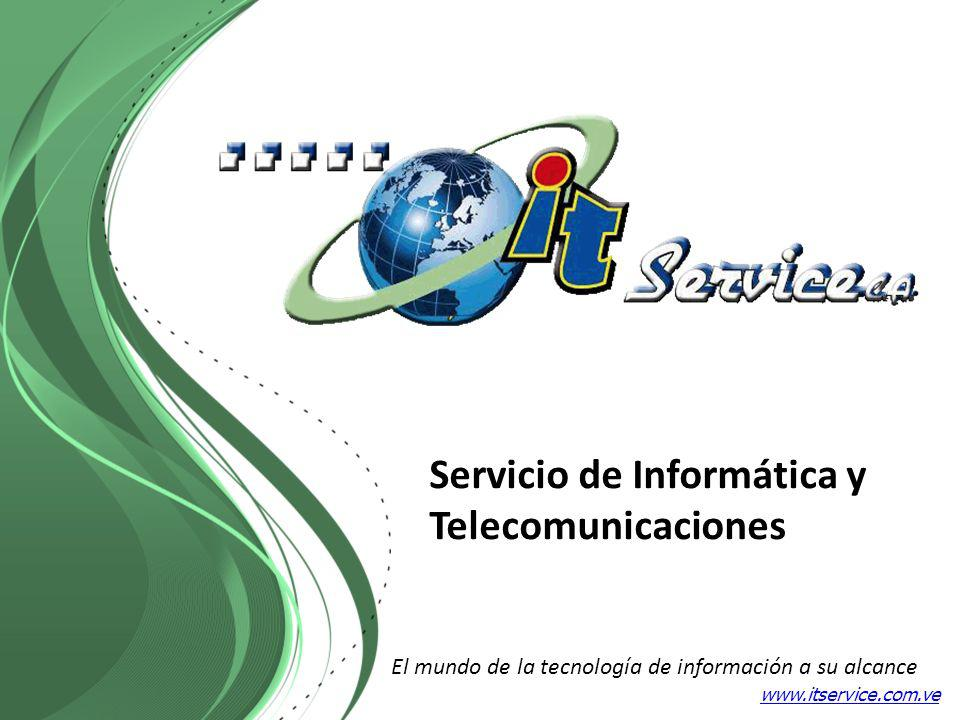 Servicio de Informática y Telecomunicaciones