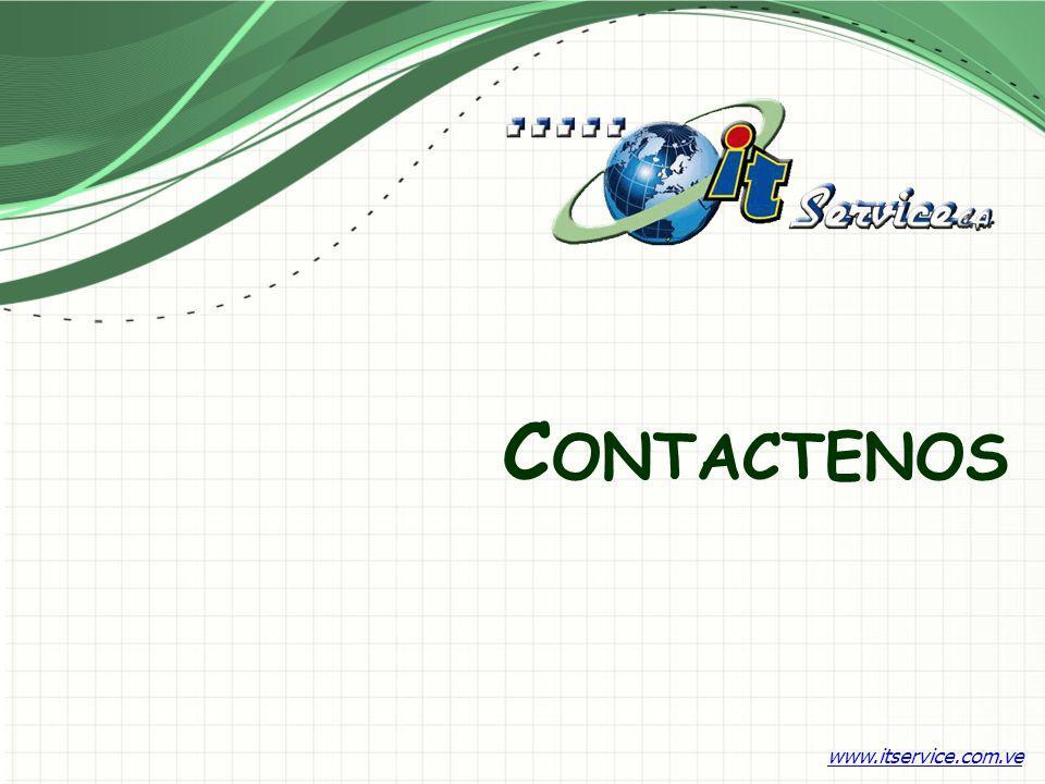 Contactenos www.itservice.com.ve