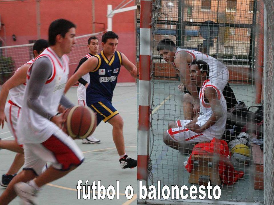 fútbol o baloncesto