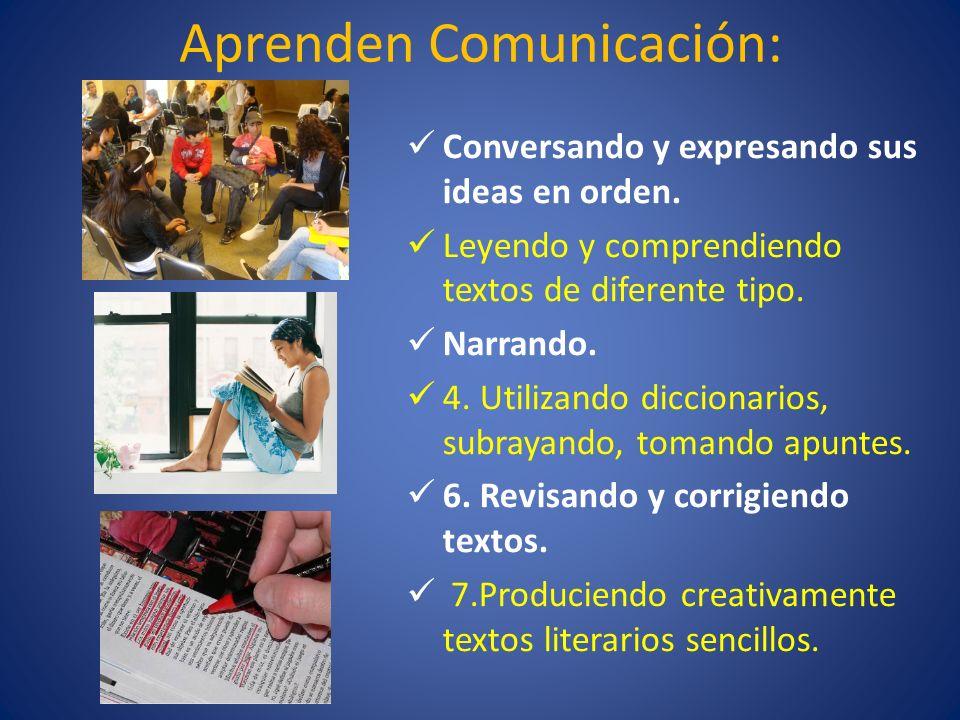 Aprenden Comunicación: