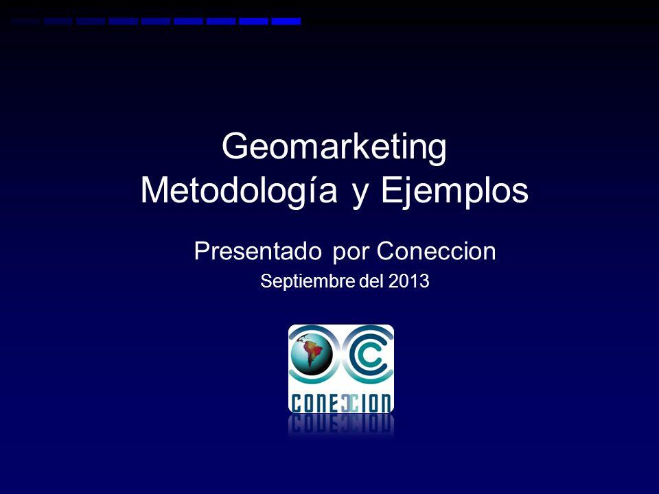 Geomarketing Metodología y Ejemplos