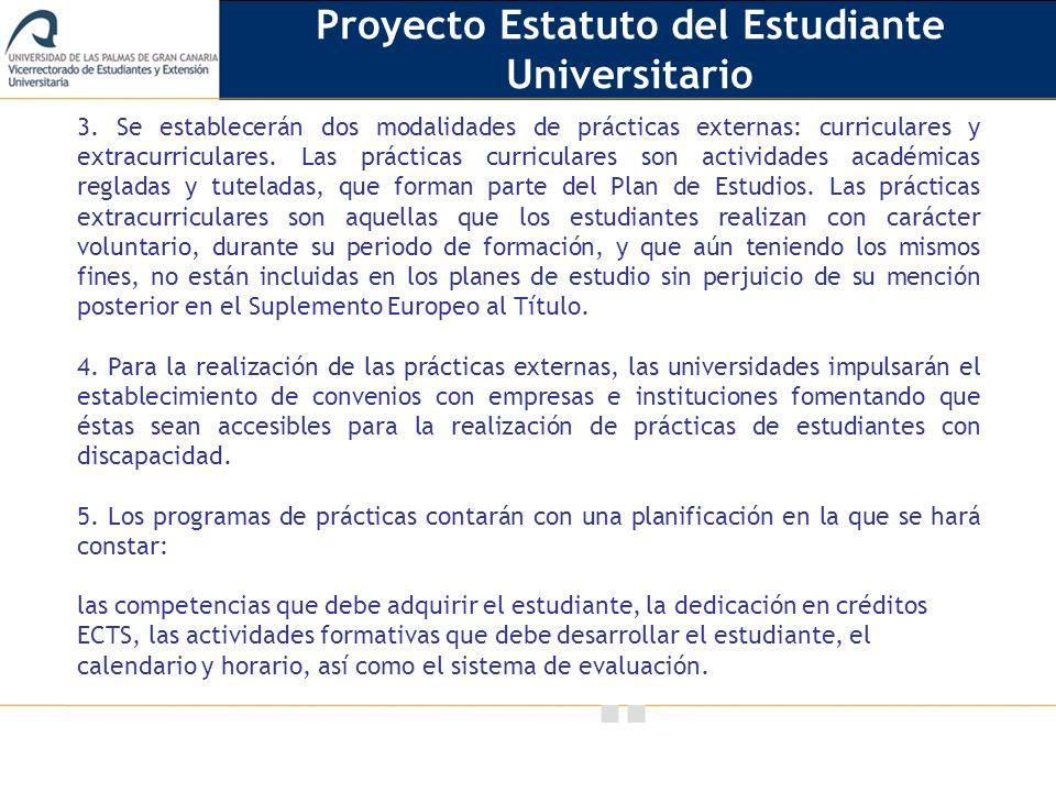 Proyecto Estatuto del Estudiante Universitario