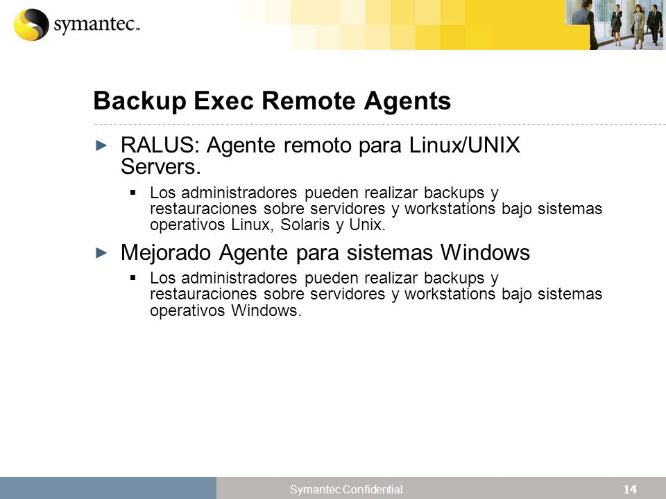 Backup Exec Remote Agents