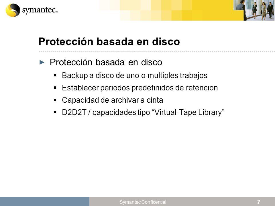 Protección basada en disco