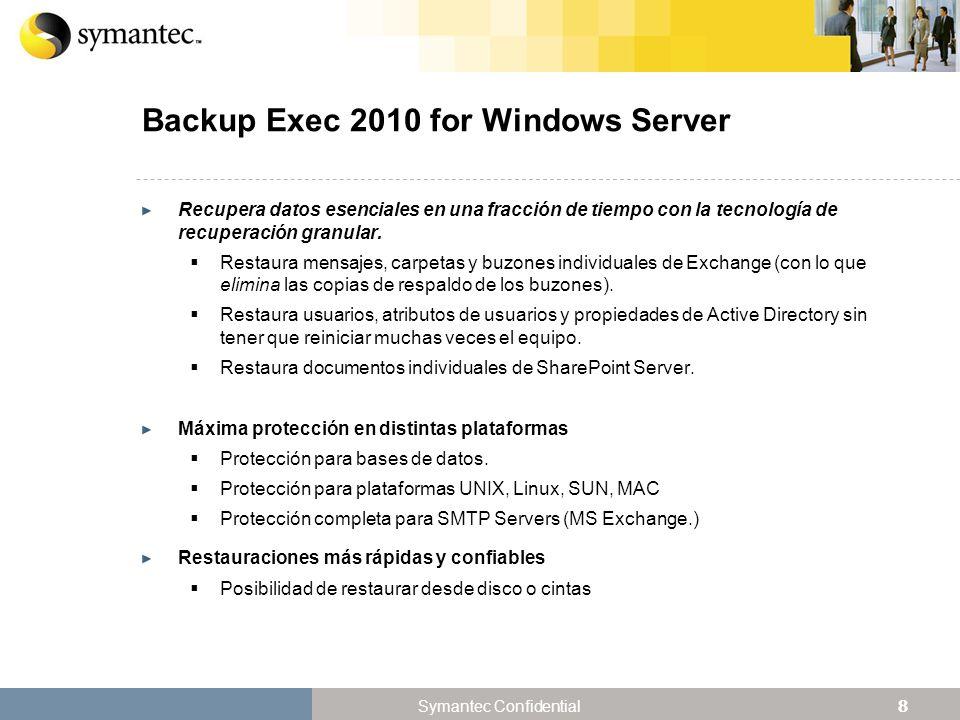 Backup Exec 2010 for Windows Server