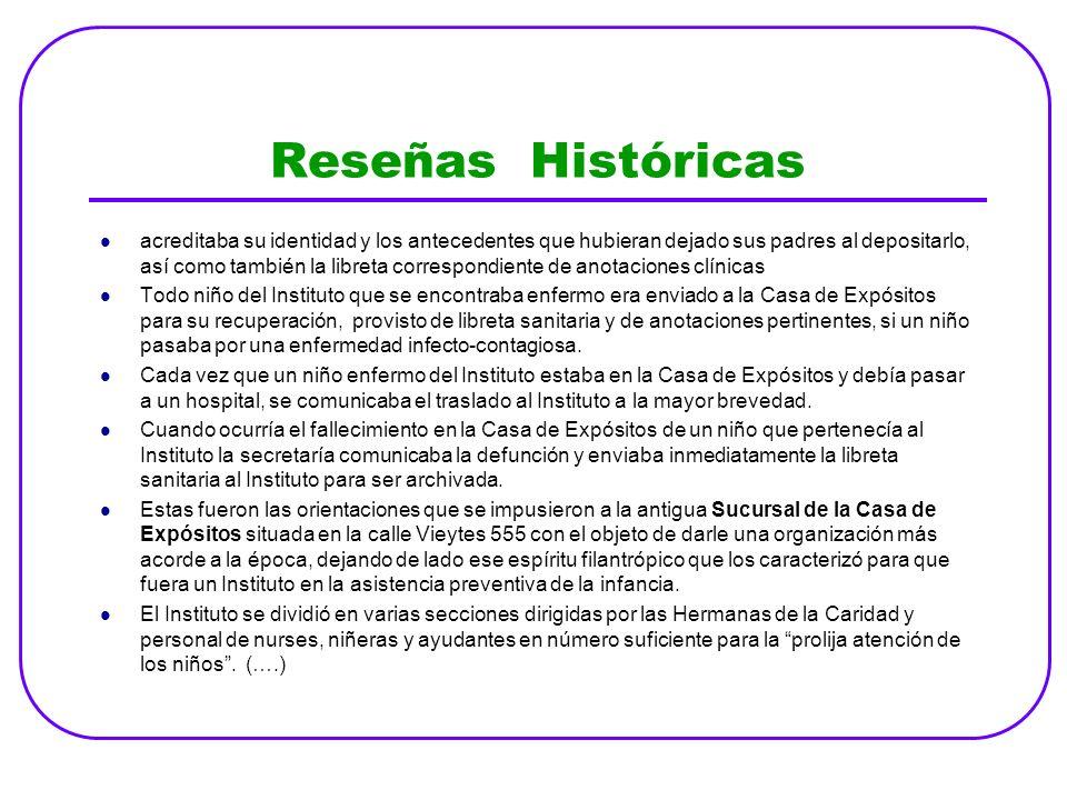 Reseñas Históricas