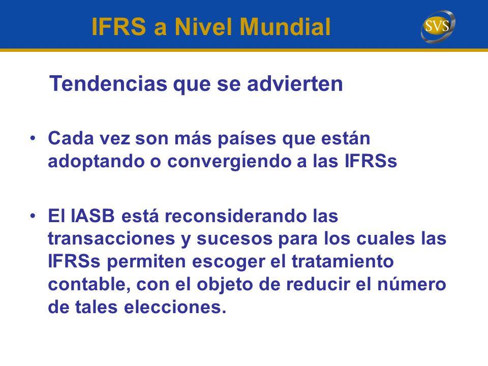 IFRS a Nivel Mundial Tendencias que se advierten