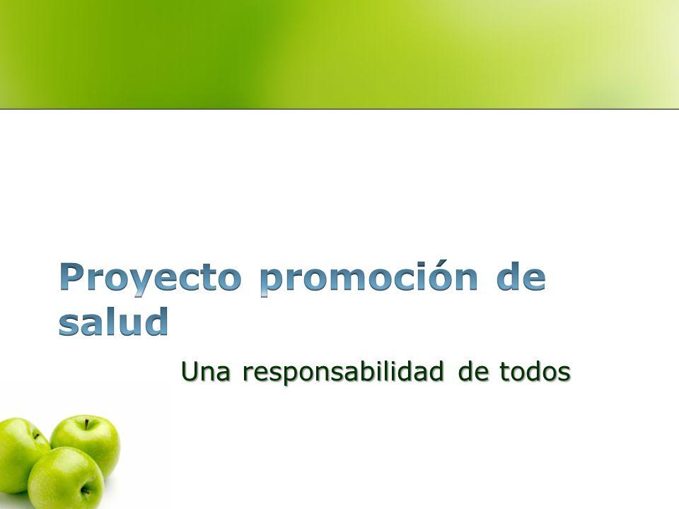 Proyecto promoción de salud