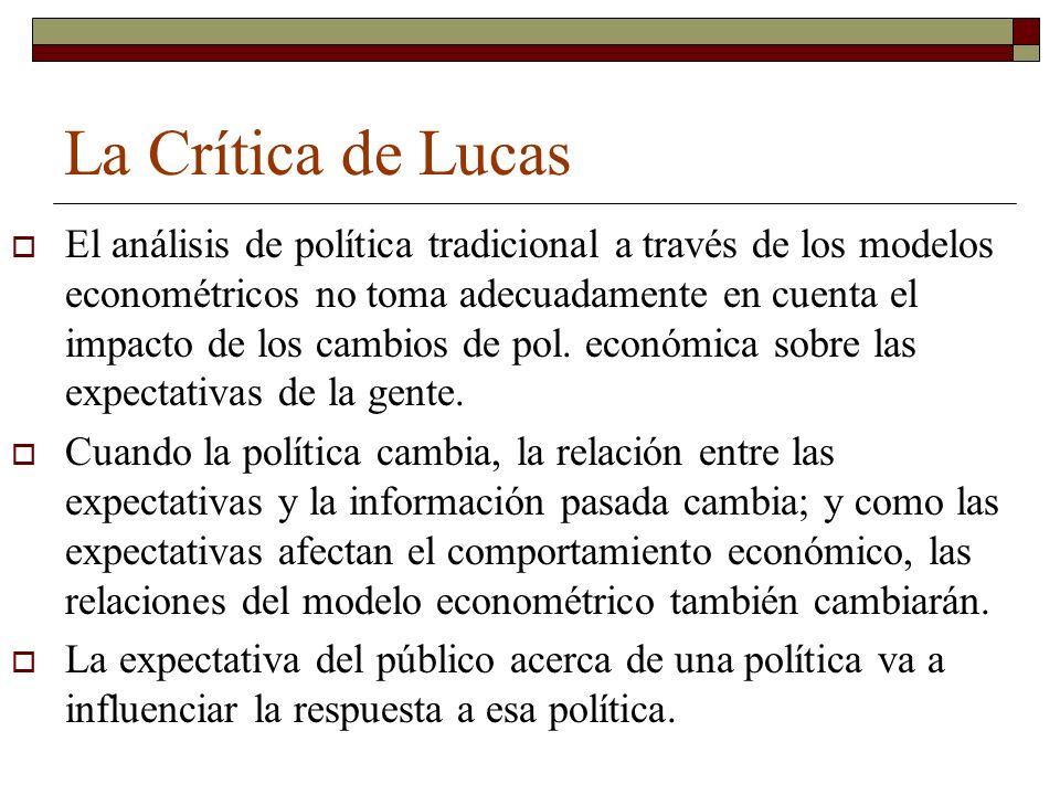 La Crítica de Lucas