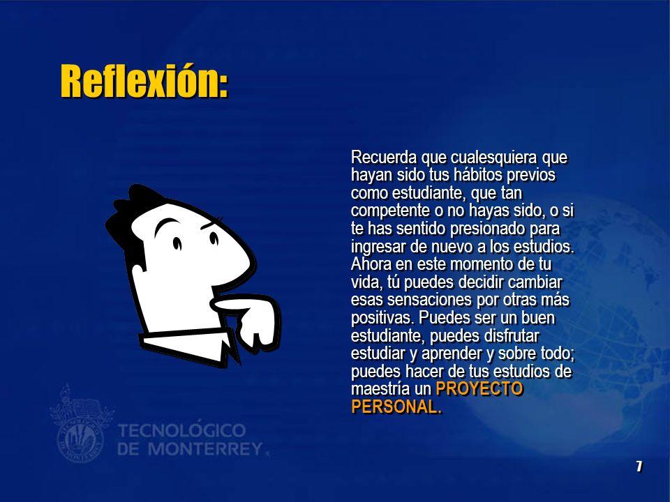 Reflexión: