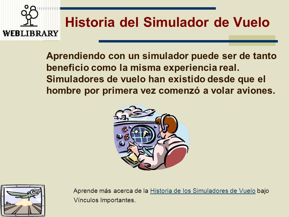 Historia del Simulador de Vuelo