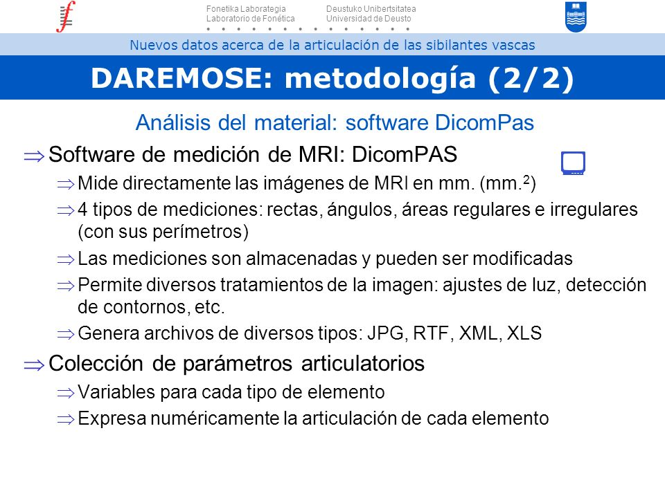 DAREMOSE: metodología (2/2)