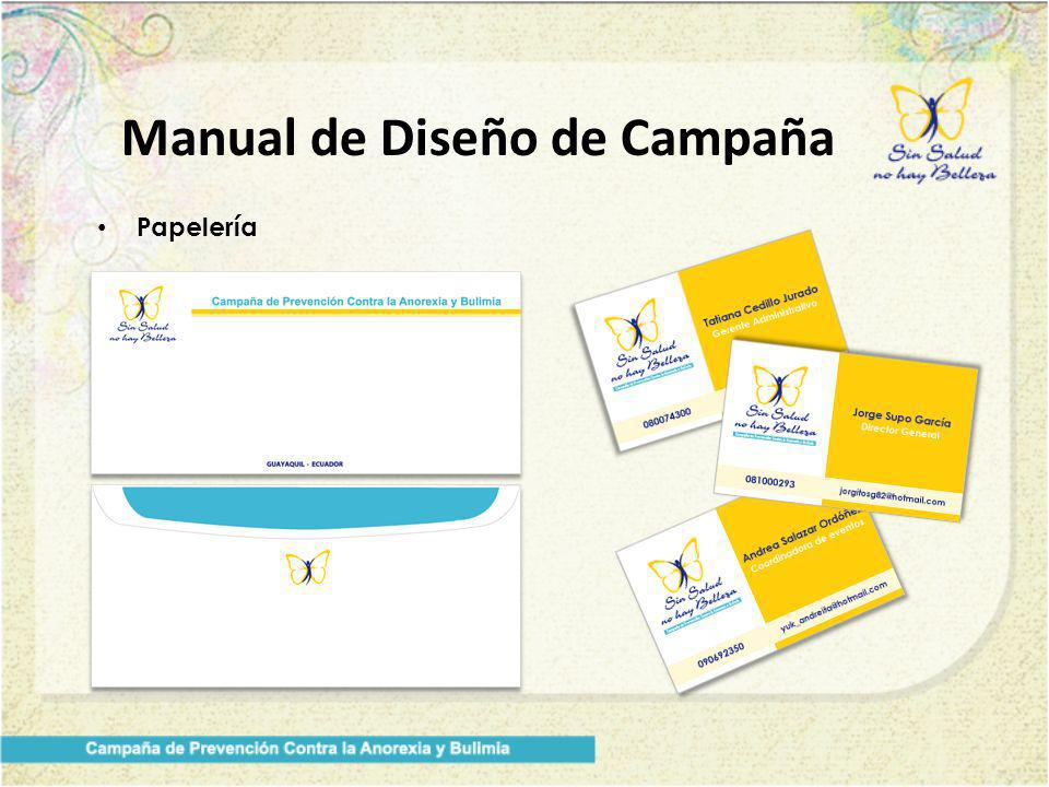 Manual de Diseño de Campaña