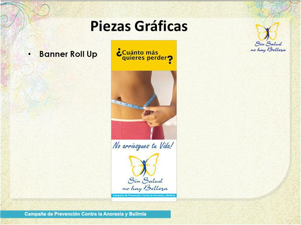 Piezas Gráficas Banner Roll Up