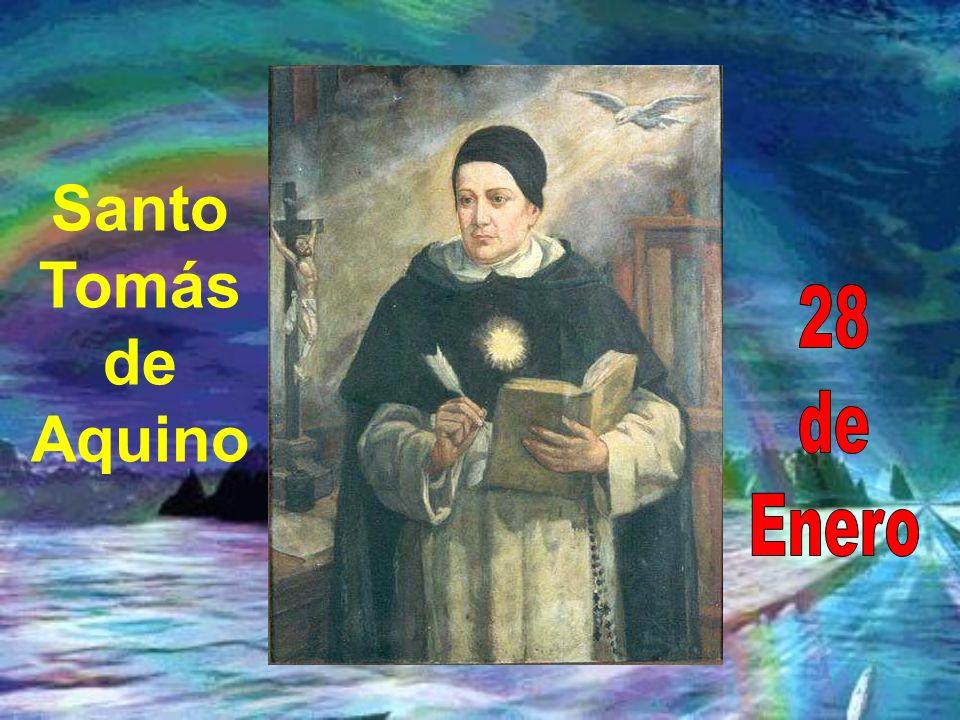 Santo Tomás de Aquino 28 de Enero