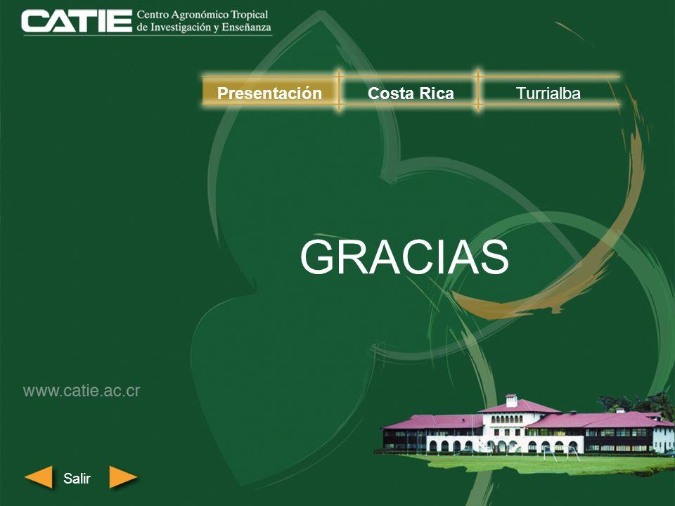 Presentación Costa Rica Turrialba GRACIAS Salir