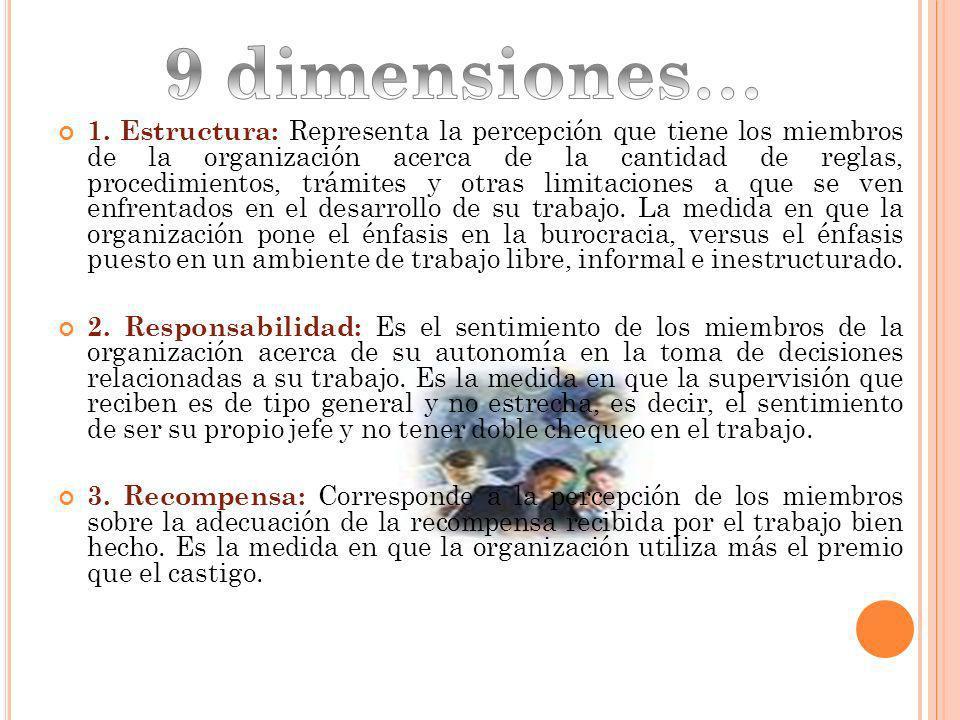 9 dimensiones…
