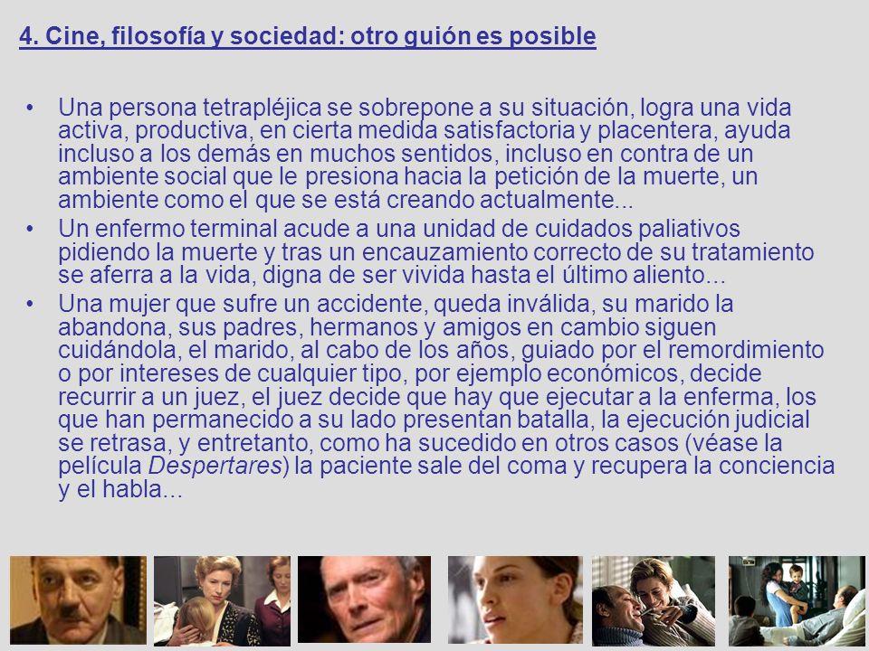 4. Cine, filosofía y sociedad: otro guión es posible