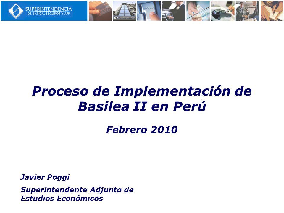 Proceso de Implementación de Basilea II en Perú