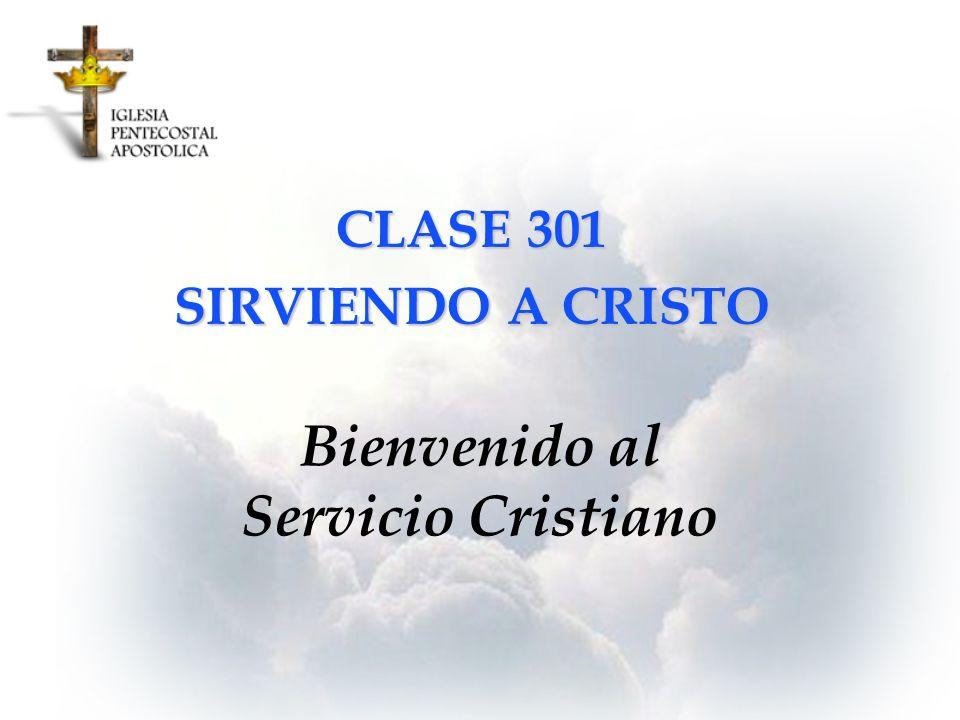 Bienvenido al Servicio Cristiano